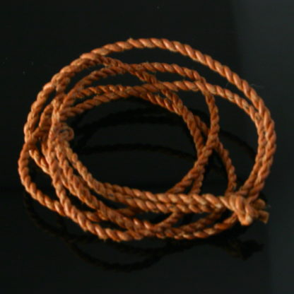 Sami, Saami Leather cords (Reindeer leather) tan
