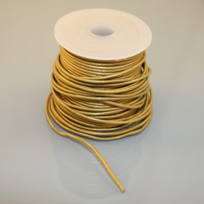 Leather Cord - Metallic Bronze