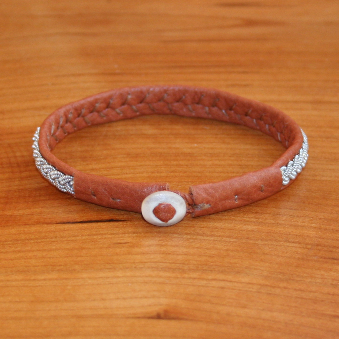Genuine Reindeer Leather Saami Bracelet Kits Single Braided Sami Kit