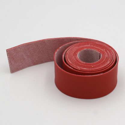 Imitation reindeer leather - red