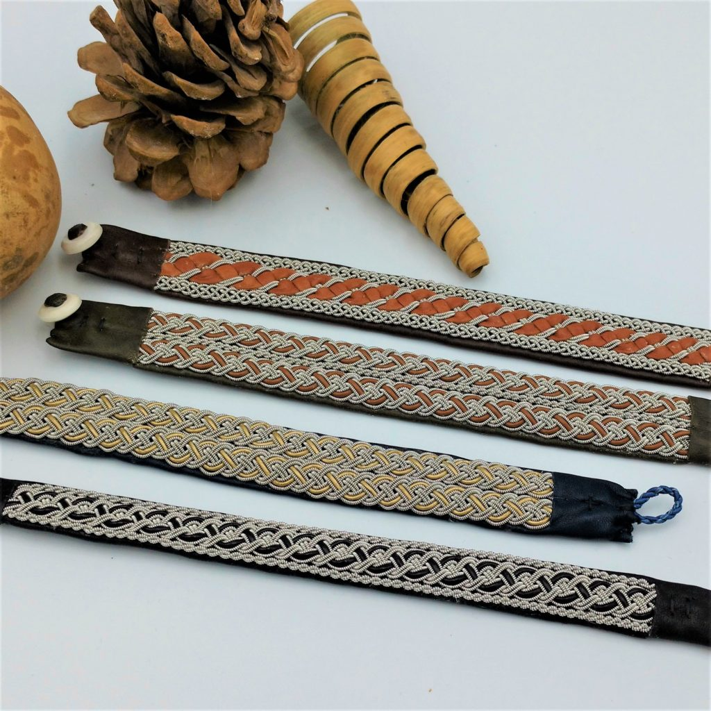 Saami Inspired Wide Bracelets