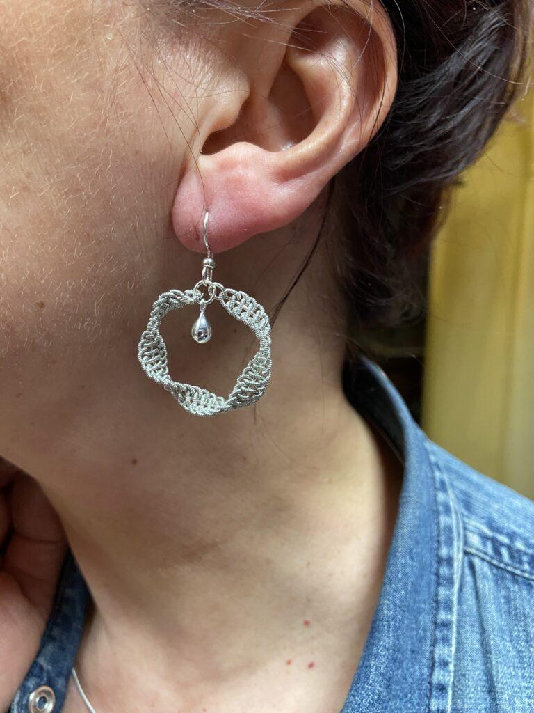 New! Sámi Inspired Sparkly Hoop Earrings